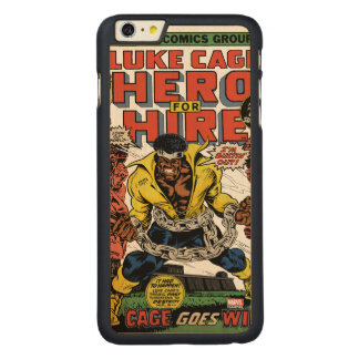 Luke Cage Comic #15 Carved Maple iPhone 6 Plus Case