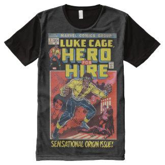 Luke Cage Comic #1 All-Over Print T-Shirt