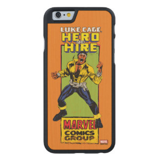 Luke Cage Comic Graphic Carved Maple iPhone 6 Case