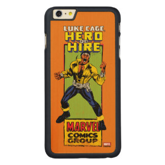 Luke Cage Comic Graphic Carved Maple iPhone 6 Plus Case