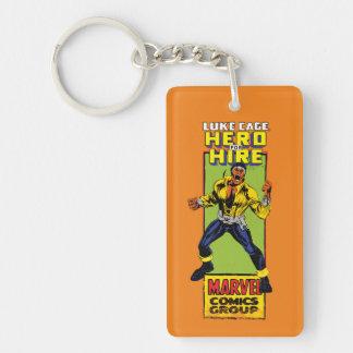 Luke Cage Comic Graphic Key Ring