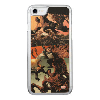 Luke Cage Fighting Aliens Carved iPhone 8/7 Case