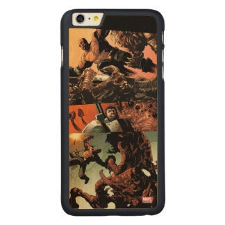 Luke Cage Fighting Aliens Carved Maple iPhone 6 Plus Case