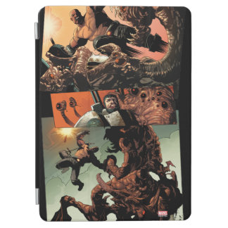 Luke Cage Fighting Aliens iPad Air Cover