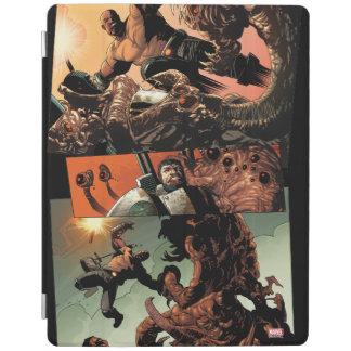 Luke Cage Fighting Aliens iPad Cover