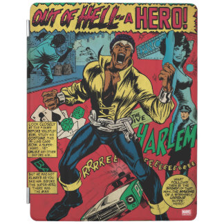 """Luke Cage """"Out Of Hell"""" iPad Cover"""