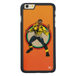 Luke Cage Retro Character Art Carved Maple iPhone 6 Plus Case