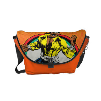 Luke Cage Retro Character Art Courier Bag