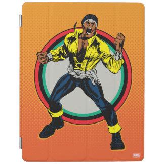 Luke Cage Retro Character Art iPad Cover