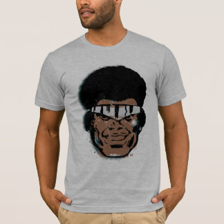 Luke Cage Retro Comic Halftone Head T-Shirt