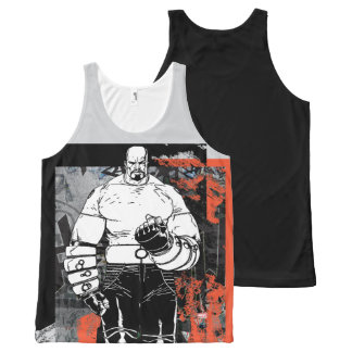 Luke Cage Sketch All-Over Print Singlet