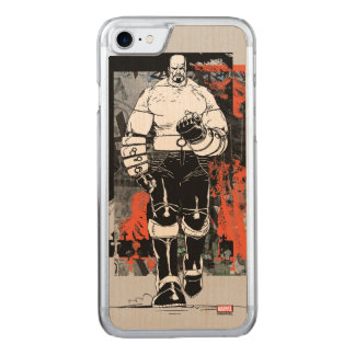 Luke Cage Sketch Carved iPhone 8/7 Case