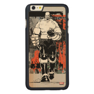 Luke Cage Sketch Carved Maple iPhone 6 Plus Case