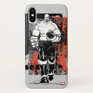 Luke Cage Sketch iPhone X Case