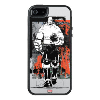 Luke Cage Sketch OtterBox iPhone 5/5s/SE Case