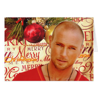 Luke Goss Christmas card 2009