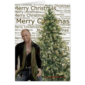 Luke Goss Christmas cards 2010
