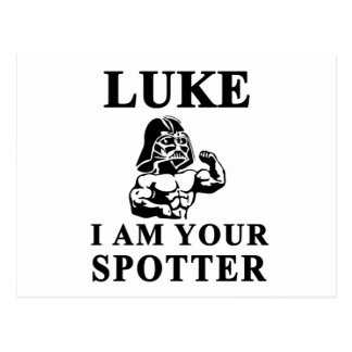 luke i am your STOPPER Postcard