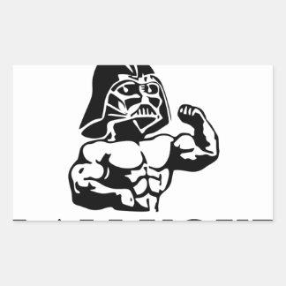 luke i am your STOPPER Rectangular Sticker