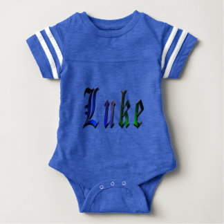 Luke, Name, Logo, Baby Bots Sports Jumpsuit