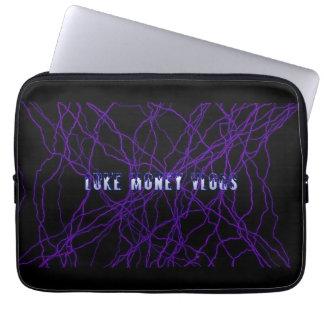lukemoney vlogs 13 inch laptop sleeve