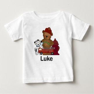 Luke's Fire Bear Baby T-Shirt