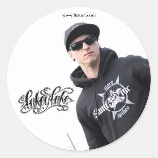 Lukey Luke Sticker [1]