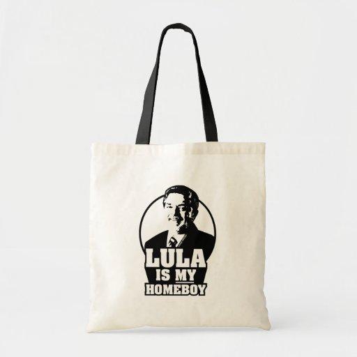 Lula da Silva is my homeboy! Canvas Bags