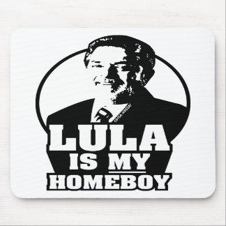 Lula da Silva is my homeboy Mousepad