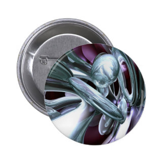 Lullaby Dreams Abstract Button