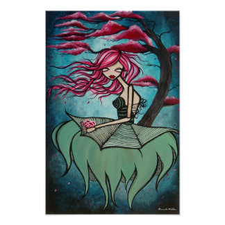 """Lullaby of Bird Land"" Matte Poster"