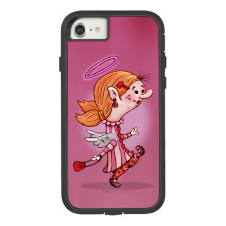 LULU ANGEL CARTOON Apple iPhone 7  XTREME Case-Mate Tough Extreme iPhone 8/7 Case