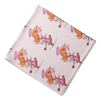 LULU ANGEL CARTOON Bandana
