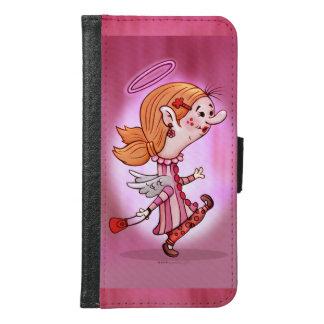 LULU ANGEL CARTOON Galaxy S6 Wallet Case