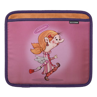 LULU ANGEL CARTOON iPad H Sleeves For iPads