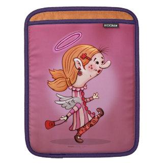 LULU ANGEL CARTOON iPad iPad Sleeve
