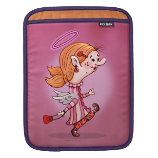 LULU ANGEL CARTOON iPad Sleeves For iPads