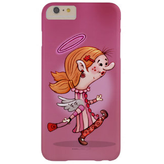 LULU ANGEL CARTOON iPhone 6/6s Plus  BARELY T Barely There iPhone 6 Plus Case