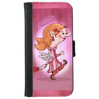 LULU ANGEL CARTOON  iPhone 6/6s Wallet Case