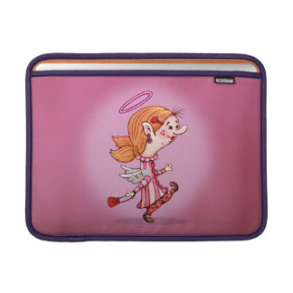 LULU ANGEL CARTOON Macbook Air 13 onz. H Sleeve For MacBook Air