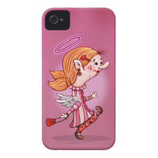 LULU ANGEL CUTE CARTOON iPhone 4 iPhone 4 Covers