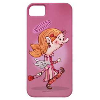 LULU ANGEL CUTE CARTOON iPhone SE + iPhone 5/5S Barely There iPhone 5 Case