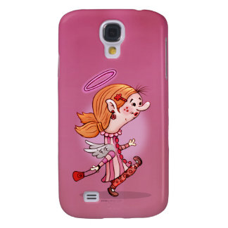 LULU ANGEL CUTE CARTOON Samsung Galaxy S4 Galaxy S4 Cover