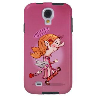LULU ANGEL CUTE CARTOON Samsung Galaxy S4 Tough Galaxy S4 Case