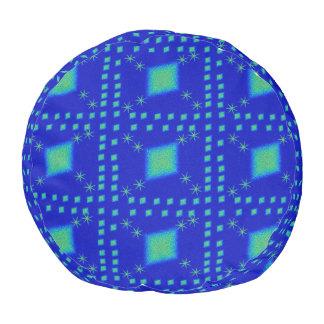 Lulu blue pouf