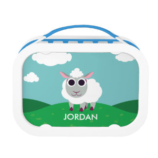 Lulu the Sheep Lunch Box