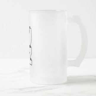 Lulz Beer Glass Frosted Glass Mug