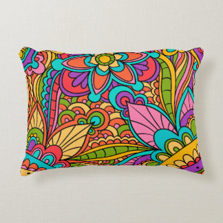 Lumbar cushion Floral Ethnic