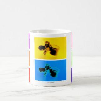 Lumbar Vertebrae Funk Coffee Mug. Fun Coffee Cup! Coffee Mug