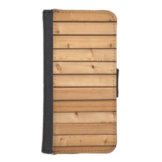 Lumber iPhone SE/5/5s Wallet Case
